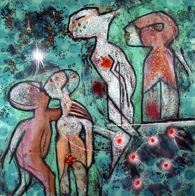 Étoile des jardins, Roberto Matta  Discover the coolest shows in New York at www.artexperience.com