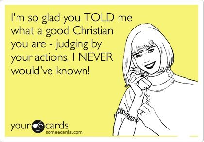 im not religious at all, but if you're gonna talk the talk, walk the walk or else you just look like a hypocrite!