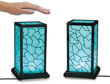 This is so cool!!!  Give it to a grandkid or your girlfriend who's off to college.  So many possibilities here. Long Distance Touch Lamp