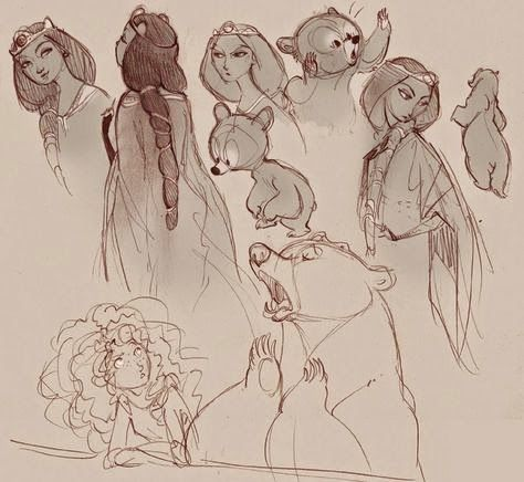 Mary Highstreet: Wednesday Inspiration | Animation Concept Art Favorites Roundup || Brave Merida Elinor || Animation, art, Atlantis, Background, Brave, Character Design, characters, Disney, Dreamworks, Ed Li, Inspiration, Marcelo Vignali, Paul Lassine, Pixar, Prince of Egypt, snow white, Spirit, Tangled, The Golden Compass