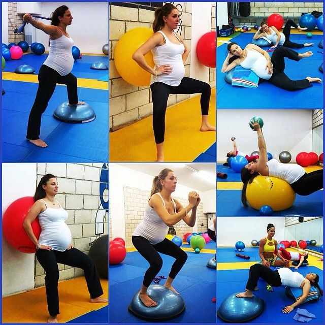 Balance Ball Exercises For Pregnancy: 38 Best BOSU Pregnancy Workouts Images On Pinterest