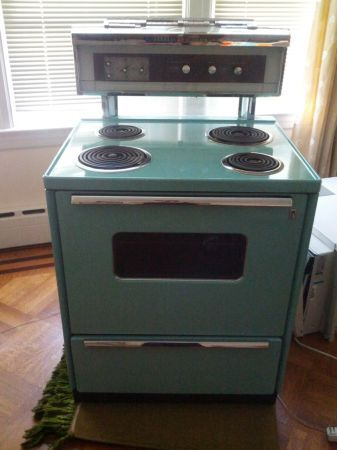 Vintage Liances From Craigslist Mid Century Every Day The Blog Stoves Kitchen