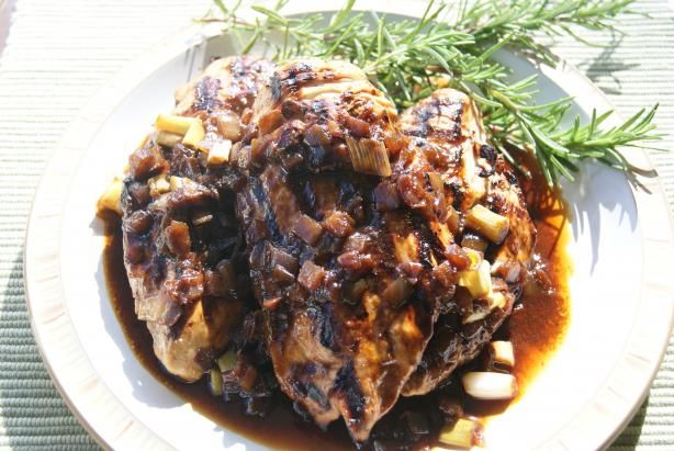 Chicken balsamic sauce