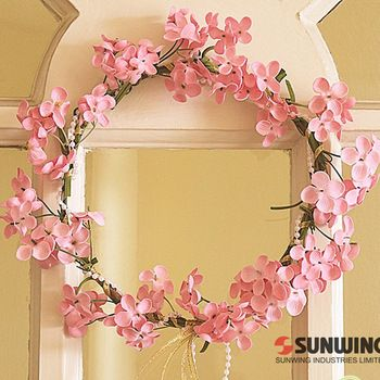 decorate wedding car,or door wreath.more style here: http://www.aliexpress.com/store/group/Small-Wreath/1225198_255654277.html