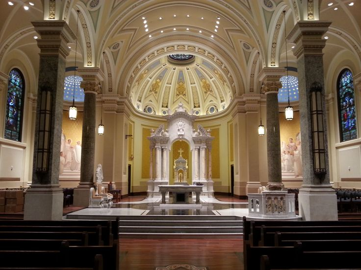 immaculate catholic conception cathedral wichita ks inside kansas mary trinity st states united cathedrals interior churches stores crew paul christian