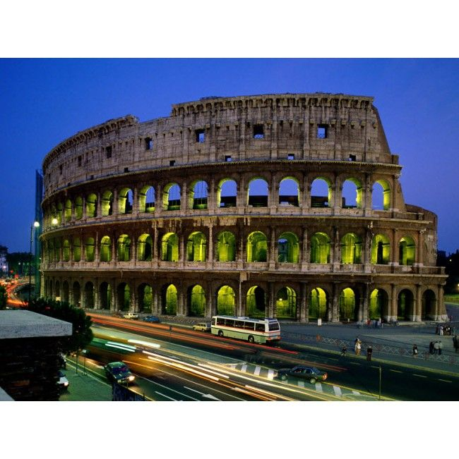 Stunning Coliseum, Rome, Italy High Quality Removable Wall Mural