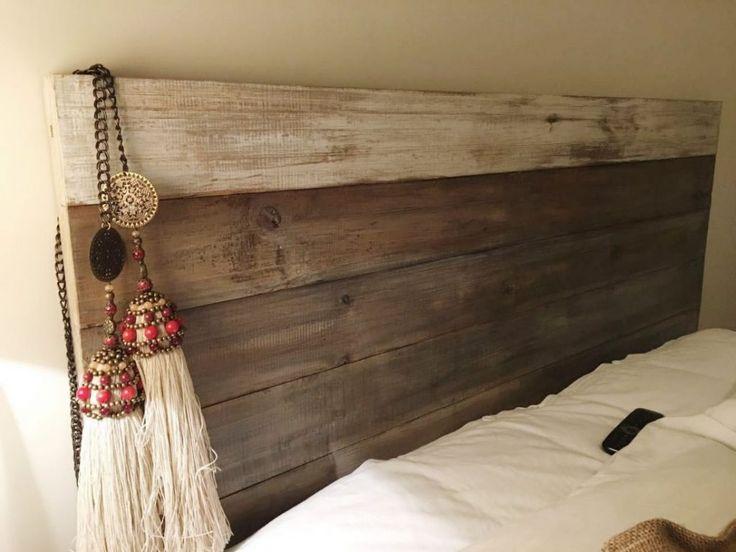 Las 25 mejores ideas sobre cabeceras de cama modernas en for Camas en madera economicas