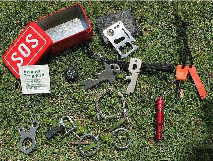 Kotak Peralatan Survival Keadaan Darurat SOS Alam Bebas Tokonik