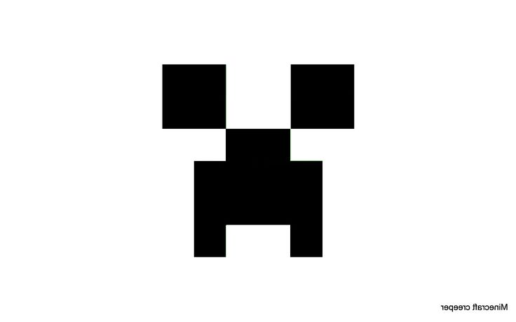 Minecraft Creeper Face Printable Wallpaper Thinkgeek Blurgh The Thinkgeek Blog  Geeky Pumpkin Carving Pictures