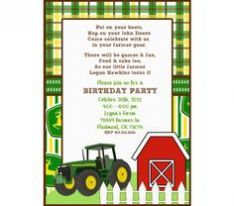 John Deere Party Invitations to inspire you in making unique party invitation wording 782 Check more at http://thewhipper.com/john-deere-party-invitations-trends-in-2017/