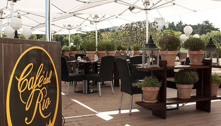 Restaurante Cafe del Rio. Terracita