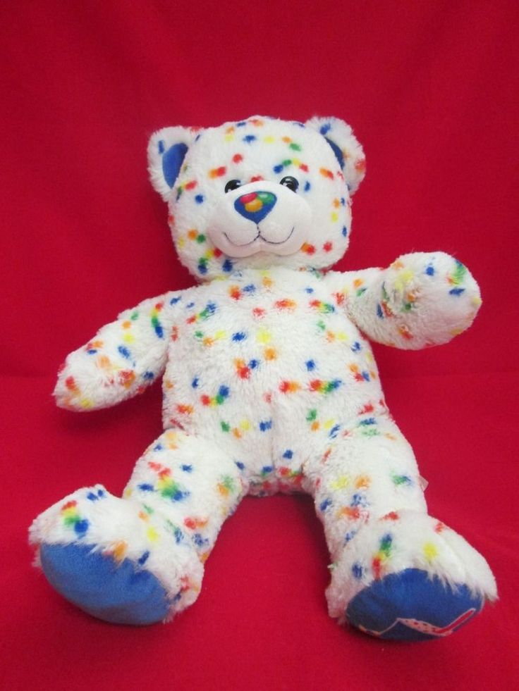 White Build A Bear Dairy Queen CANDY SPRINKLES Polka Dot ... Dq Blizzard Cup