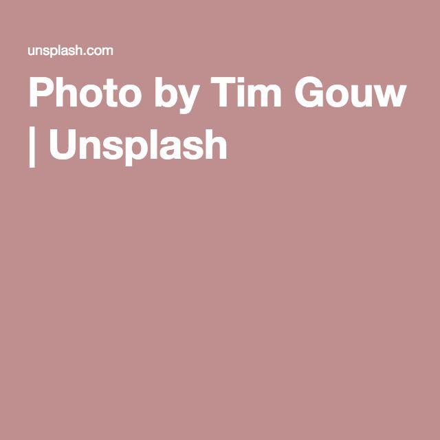 Photo by Tim Gouw | Unsplash