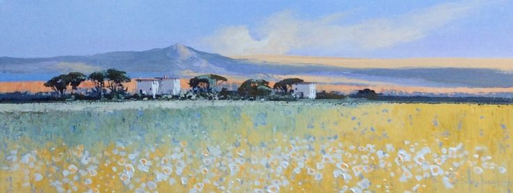 A Summers Day in Provence by John Horsewell now available at www.imagesinframes.com