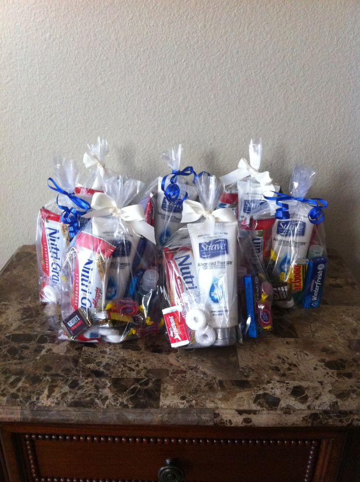 Nurse Thank You Gifts. Gift cards, lotion, sanitizer, lip balm, candy, snacks, gum.