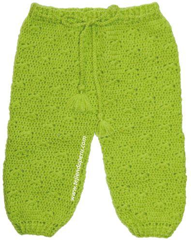 pantalón crochet o ganchillo