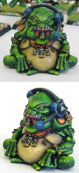 Blood bowl Quetzacoatl flyers coach  this is an awesome idea! :D