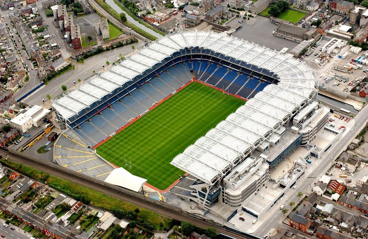 Croke Park, Dublin, Ireland. An awesome place to see U2 in 09. Great pub crawl to get there as well.