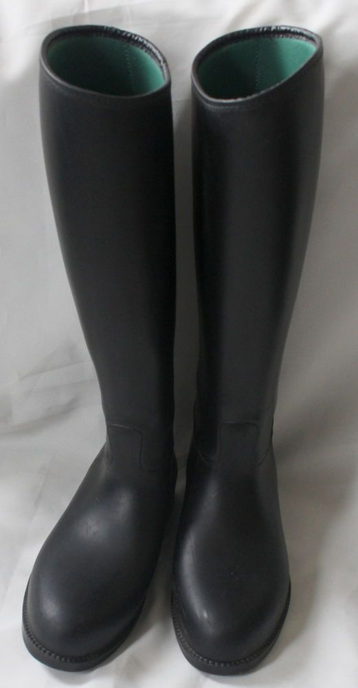 Lovely Black  Ladies Riding Boots by Toggi size 4