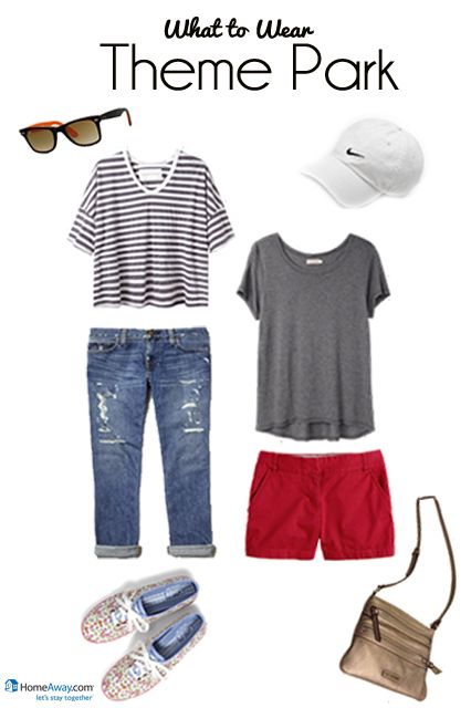 Theme Park Style - pack this for an Orlando trip! #fashion