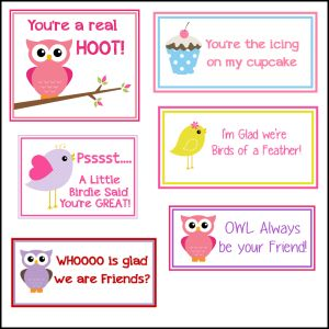 Free Printable Valentines | Lunch box notes, Free ...