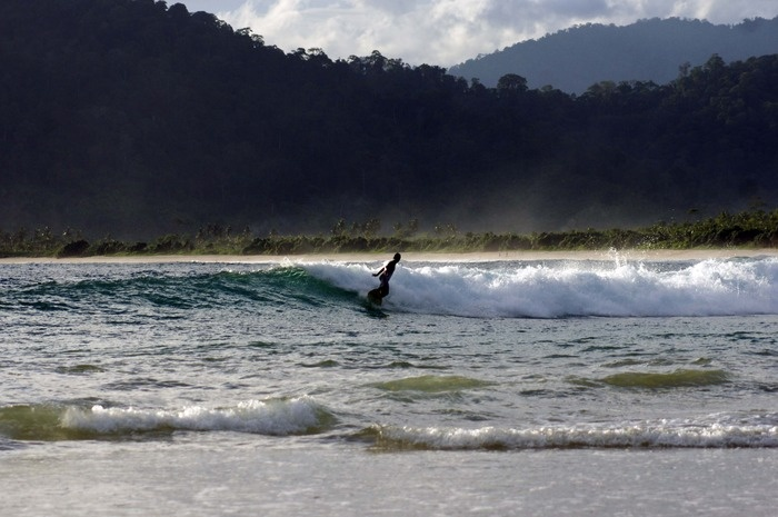 An international surfing competition is slated to be held at Red Island Beach in May. Photo by Wahyoe Boediwardhana.