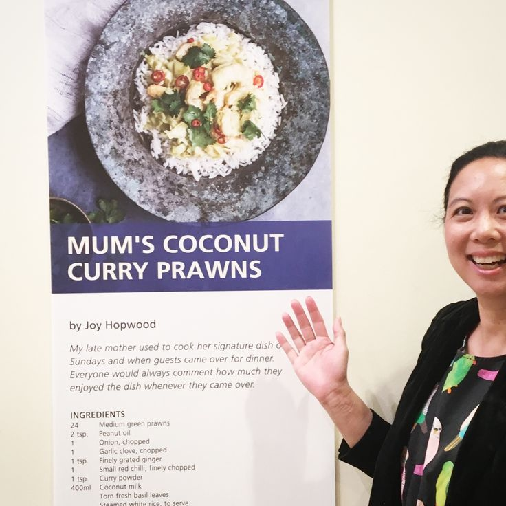 My blog & write up about my late mother's coconut prawns was a finalist tonight #heritagefestival . (It's also published in Taste magazine) #writers #blogs #foodies ... may her legacy live on through sharing her love ❤️ of food. Wish she was here to cook it for me again 😂-it was my favourite.... but I wanted to share her recipe with everyone to enjoy . .