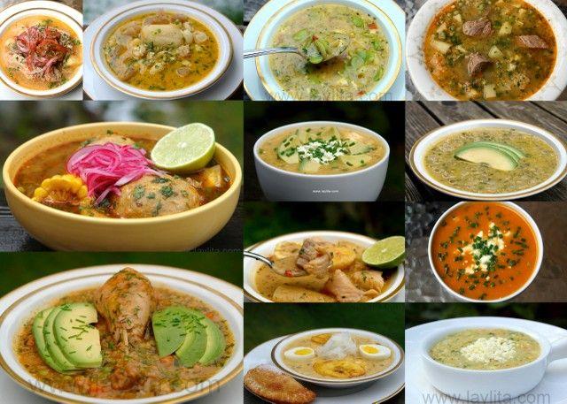 Las Mejores Recetas de Sopas Ecuatorianas, con fotos de la preparacion paso a paso de las mas deliciosas sopas del Ecuador.