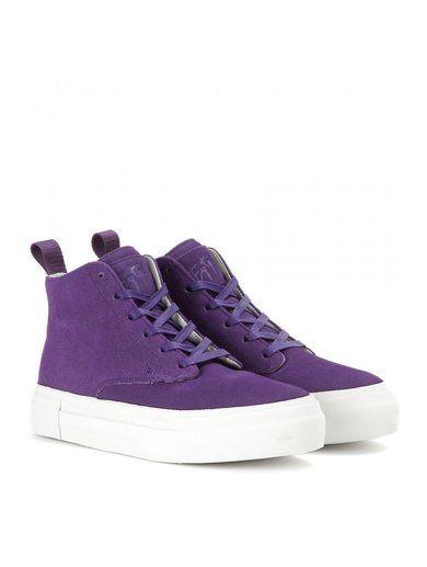 Odyssey Suede High-top Sneakers