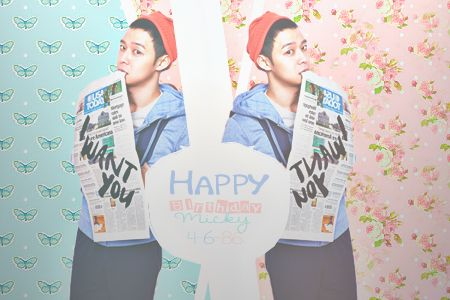 Happy Birthday Micky Yuchun. 28 years already !!!