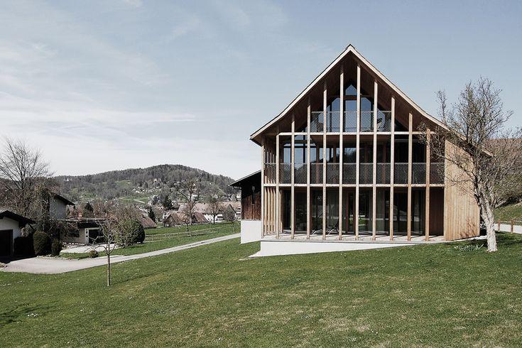 Marte.Marte Architekten - Wohnhaus Summer, Weiler