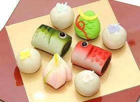 wagashi for Children's Day