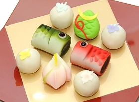 wagashi for Children's Day
