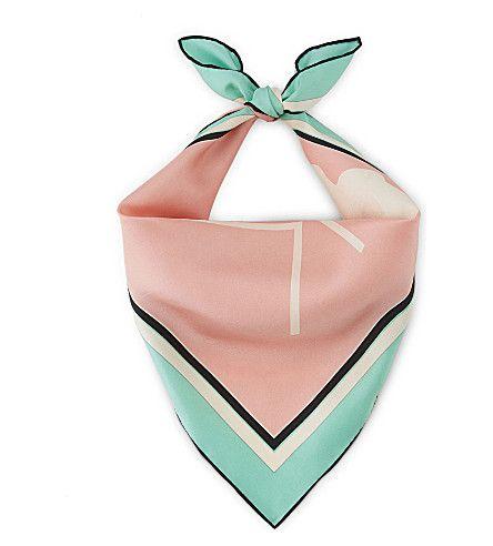 ROKSANDA Logo silk bandana. #roksanda #bags #silk #