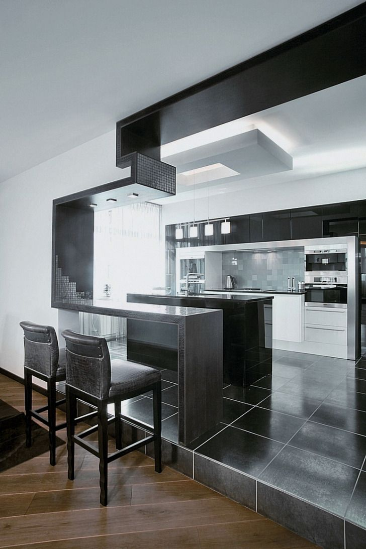 Best Images About Cuisine On Pinterest Kitchen Modern Grey   Modern  Basement Bars