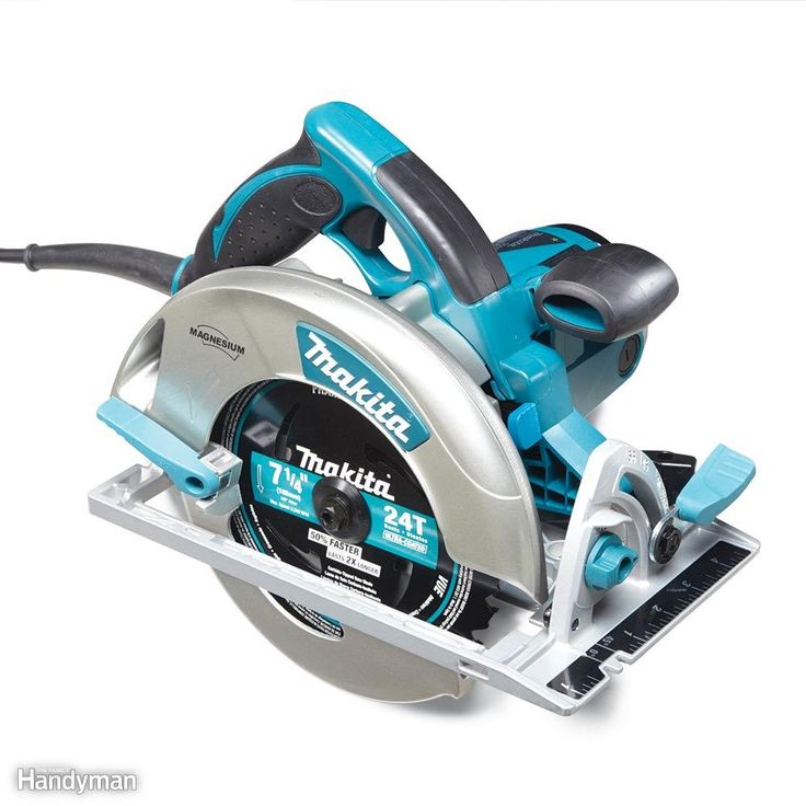 Best Overall: Makita 5007MG circular saw.  I have the Dewalt and its somewhat bulky and heavy.......d.