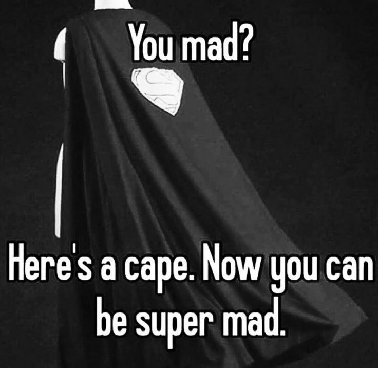 You mad?  Here's a cape.  Now you can be super mad, Leia