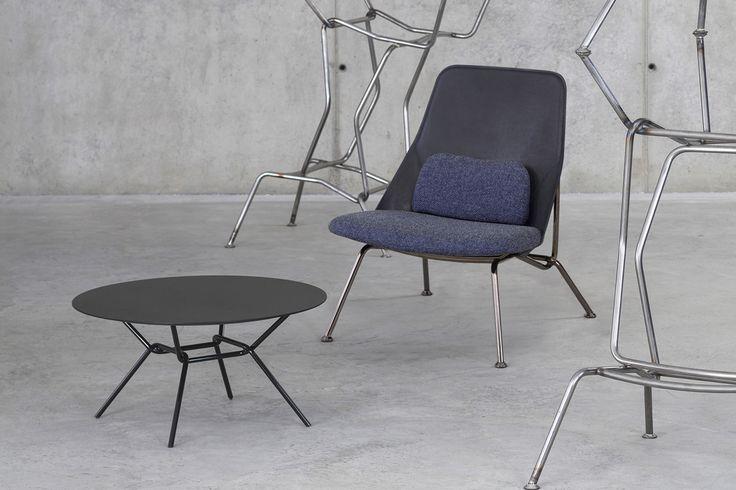 Strain chair designed by Simon Morasi Piperčić for Prostoria: