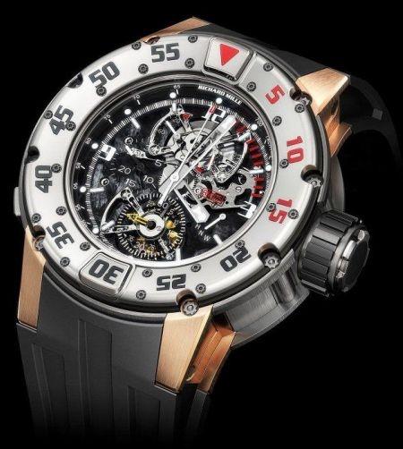 Tourbillon Chronograph Diver's watch.