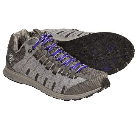 Columbia Sportswear Master Fly Shoes - Minimalist (For Women) moonrock/clematis blue