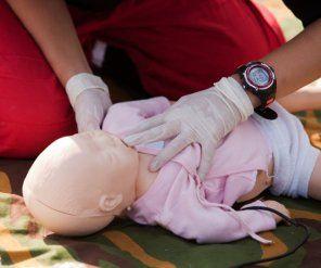 Pierwsza pomoc dla niemowlaka