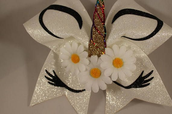 This listing is for a new, handmade (by me) cheer bow. It is on a thick black hair tie and is a BIG bow made on 3 grosgrain ribbon. Measures about 7 1/2 inches across. Gorgeous!!! My bows are professionally made with a heat press in my bow studio, NOT a hand iron, and I guarantee
