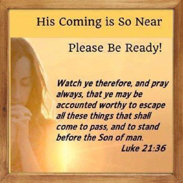 Jesus commanded us to watch for the signs of the end times so we can be ready for His return.  http://www.jesus4evers.com/?p=2994
