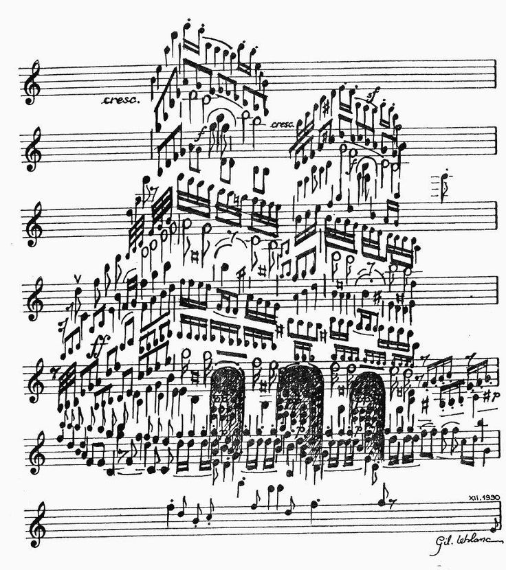 the cathedral made of music