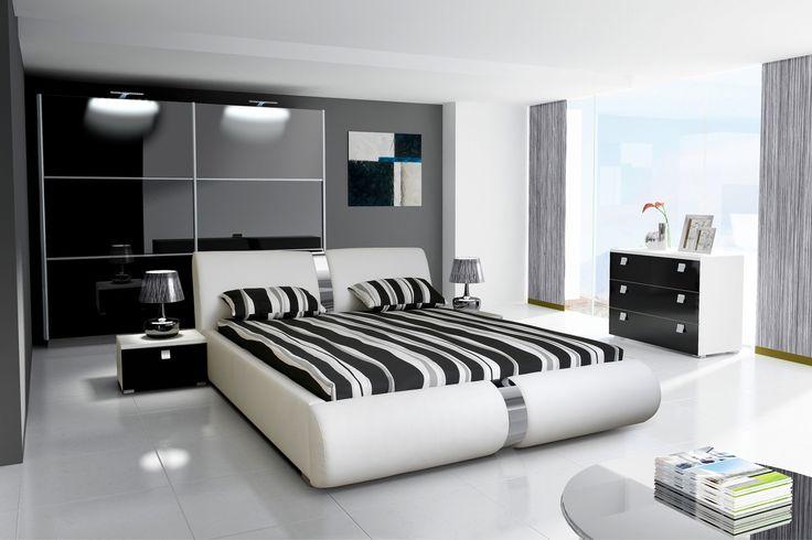 Armario de dise o moderno modelo alicante con puertas - Modelos de dormitorios ...
