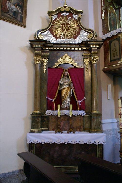 Laski - Kościół Wniebowzięcia NMP (1741)