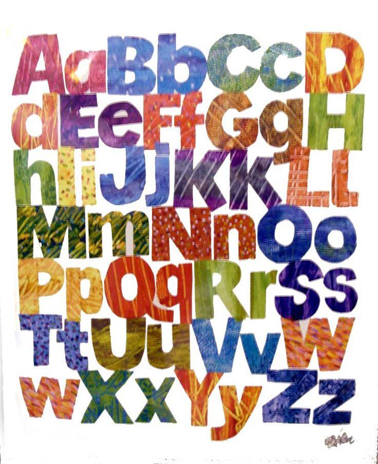 エリックカール Eric Carle - alphabets アルファベット - ポスター Happy Graphic Gallery ハッピーグラフィックギャラリー