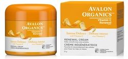 Avalon Organics Vitamin C Renewal Renewal Cream  $22.99 - from Well.ca