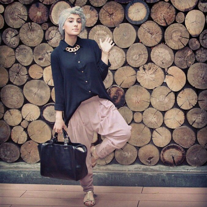 Turban hijaab style
