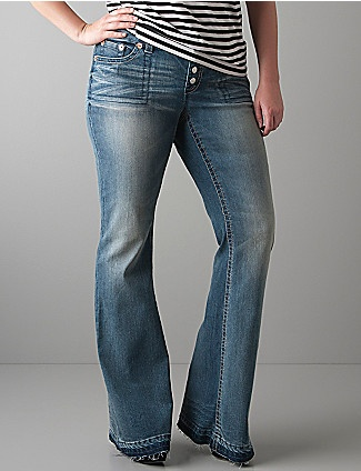 .: Comfy Jeans, Buttons Fly, A Mini-Saia Jeans, Flare Jeans,  Blue Jeans, Plus Size Pants, Fly Flare, Seven7 90, Fabulous Flare